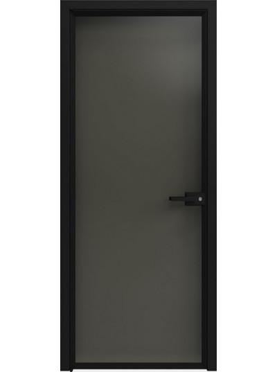 Стеклянная дверь Sofia Scala Глянцевый черный (T18) Черный