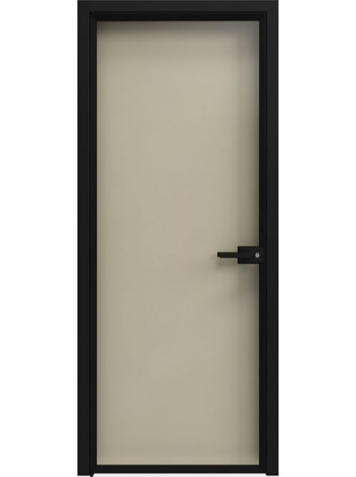 Стеклянная дверь Sofia Scala Глянцевый песочный (T22) Черный