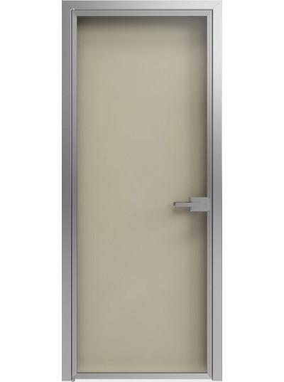 Стеклянная дверь Sofia Scala Глянцевый песочный (T22) Серебро
