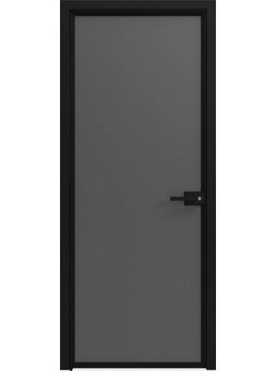 Стеклянная дверь Sofia Scala Матовый черный (T19) Черный