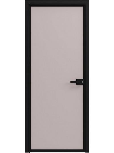 Стеклянная дверь Sofia Scala Матовый серый (T21) Черный