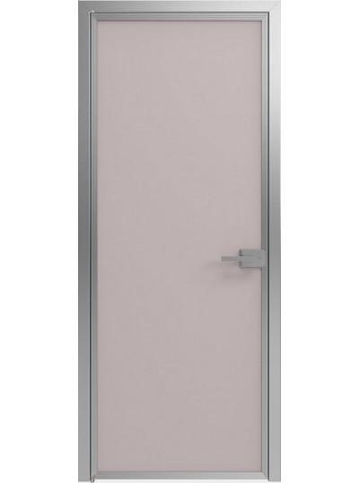 Стеклянная дверь Sofia Scala Матовый серый (T21) Серебро