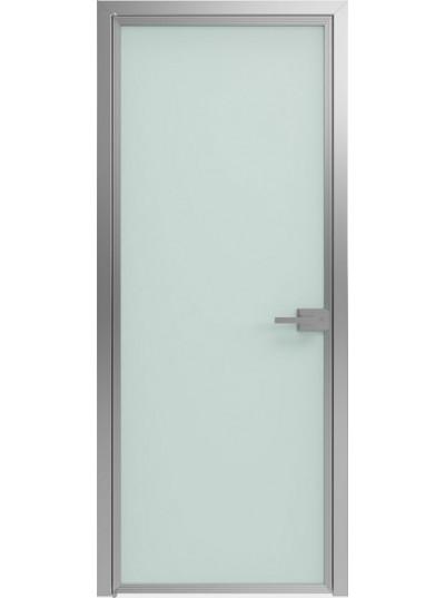 Стеклянная дверь Sofia Scala Матовое (T02) Серебро