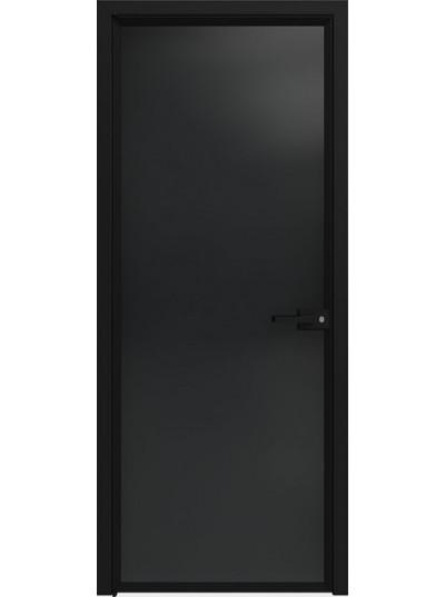 Стеклянная дверь Sofia Scala Прозрачный черный (T13) Черный