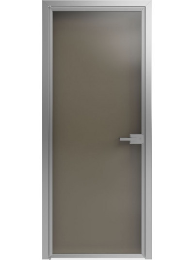 Стеклянная дверь Sofia Scala Зеркальное (Т03) Серебро